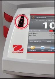 電子分析天平EX423感應器