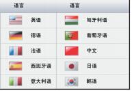 電子分析天平EX423語言功能